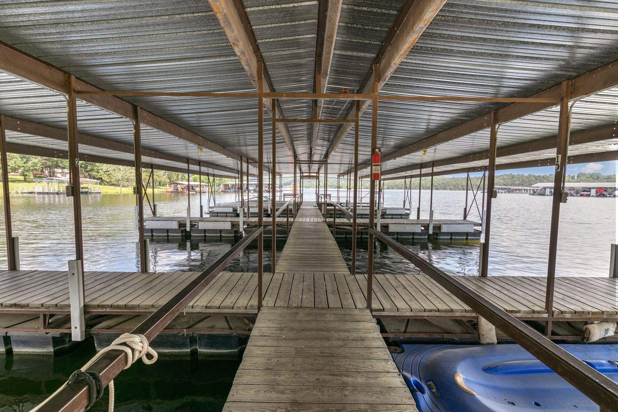Hideaway Resort Dock